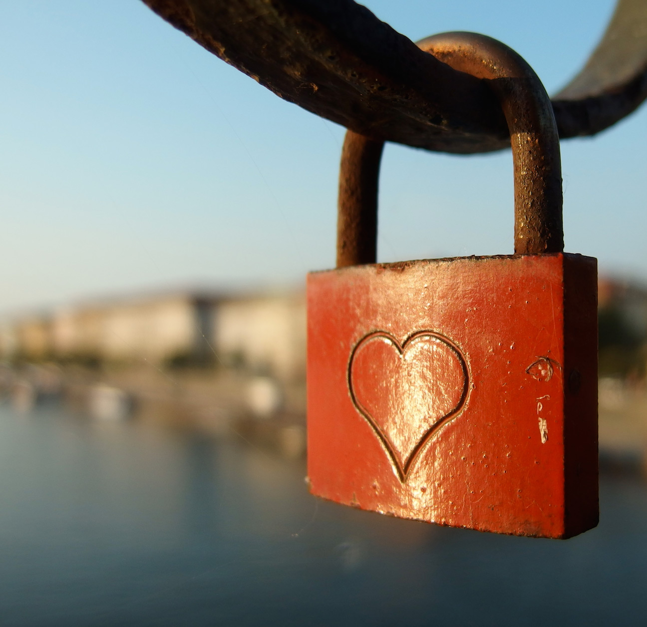 Photograph of Lock by Martin Vorel - Public Domain